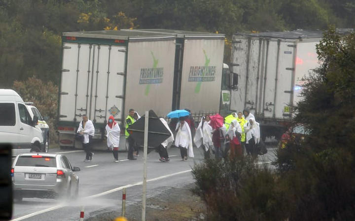 New Zealand bus crash near Rotorua leaves several people dead