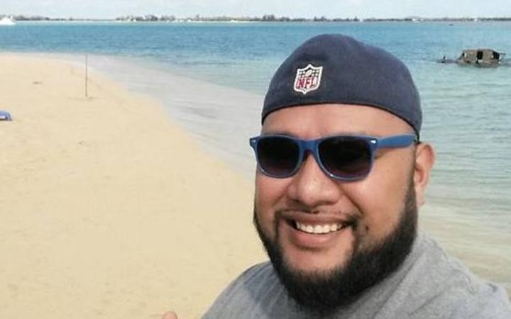 Enjoying a beach in Tonga