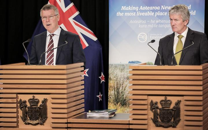 Environment Minister David Parker and Agriculture Minister Damien O'Connor unveiled the plan at Parliament this morning, with the aim of restoring the country's waterways within a decade.