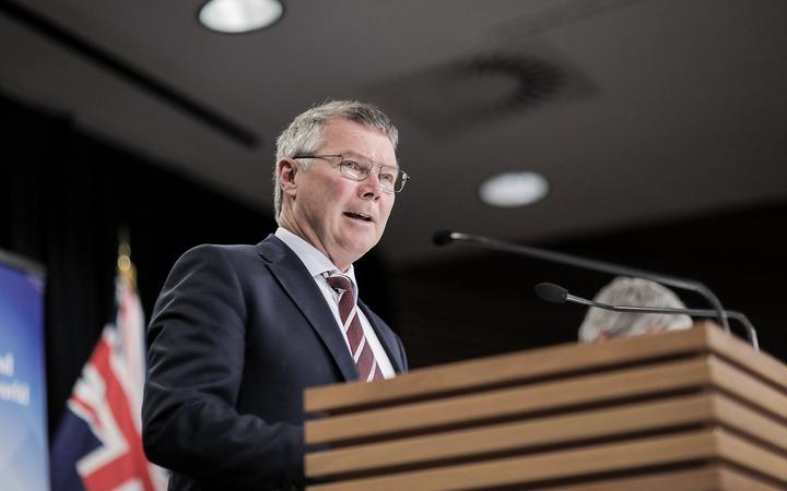 Environment Minister David Parker speaks at Parliament about the government's plan to clean up rivers, lakes and wetlands.