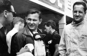 Bruce McLaren and Denny Hulme, Reims-Gueux Grand Prix.