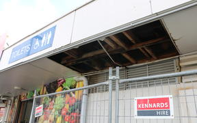 A storm lifted the roof of the public toilet block at the Māngere Town Centre back in January.