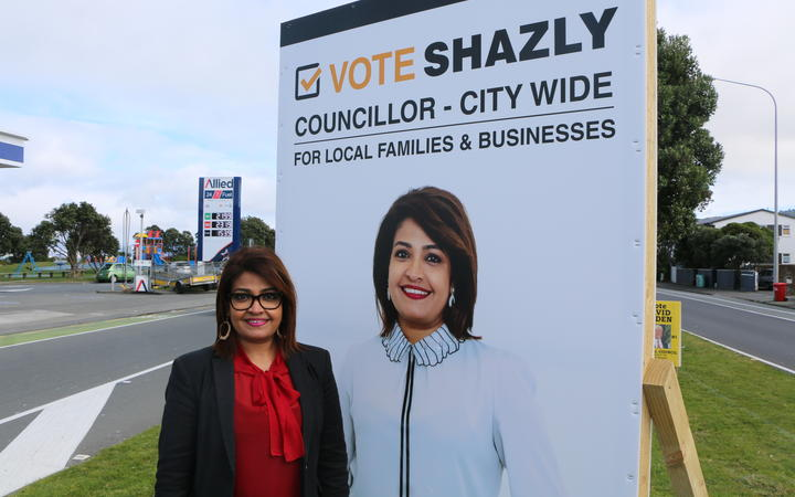 Hutt City Council candidate Shazly Rasheed.