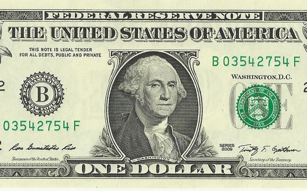 The US One Dollar Bill