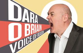 Dara O'Briain is visiting New Zealand on his Voice of Reason tour.