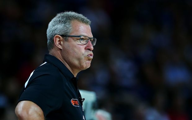 The New Zealand Breakers coach Dean Vickerman is not happy following his side's controversial loss to Melbourne United.
