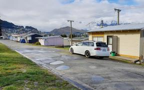 The former Lakeview camping ground site in Queenstown