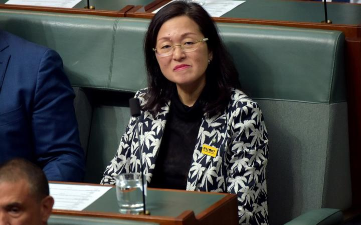 Australia's Liberal backbencher Gladys Liu attends a Question Time session at Parliament House on Sept 12.
