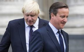 2015 file photo of David Cameron and Boris Johnson, when he was London mayor.
