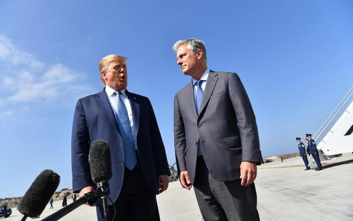 US Pres. Trump names Robert O'Brien as next national security adviser