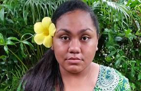 Young Fijian environmental activist AnnMary Raduva has a message for the world.