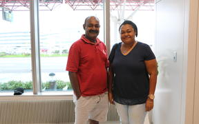 Father Inosi and sister Bulou have travelled from Fiji to support Wallabies midfielder Tevita Kuridrani.