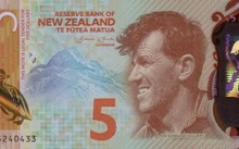 New Zealand's $5 note