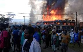 Unrest broke out in Wamena on 23 September.