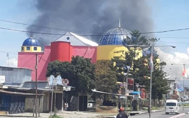 Unrest in Wamena, West Papua on 23 September 2019