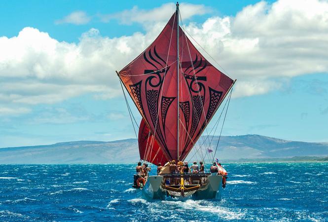 The va'a moana Fa'afaite i te Ao Mā'ohi.