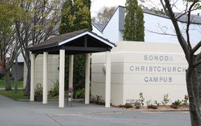 Sonoda Christchurch campus building.