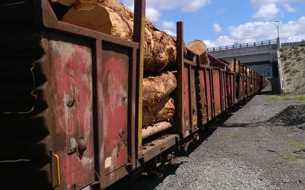 Northland log train