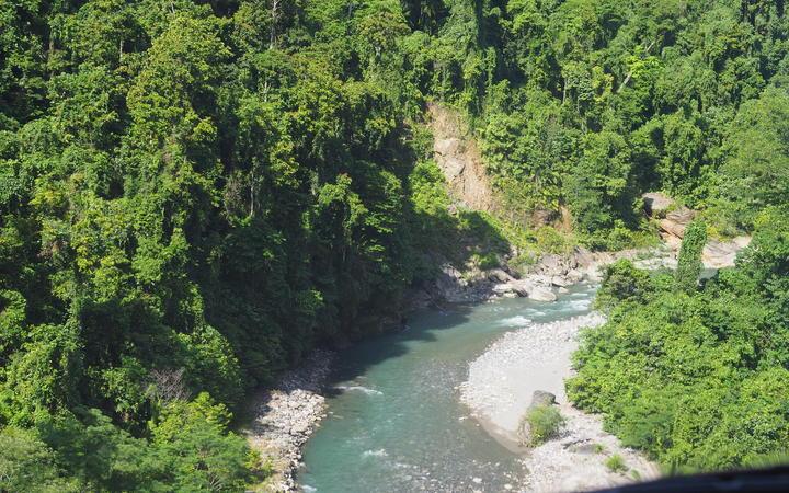 Tina River on Guadalcanal
