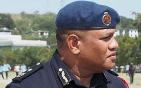 Papua New Guinea police commissioner David Manning