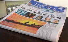 Fairfax titles The Age and Sydney Morning Herald.