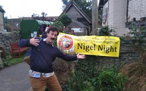 Nigel Hughes at Nigel Night
