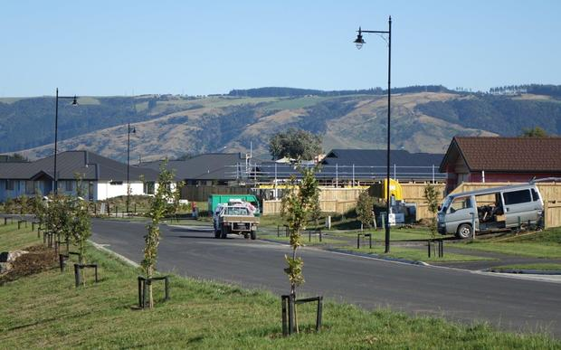 Highland Park housing subdivision in Mosgiel.