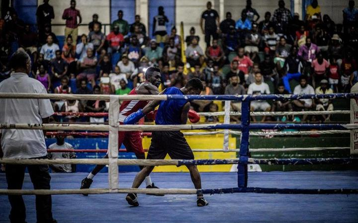 Solomons' boxing group to host first international match
