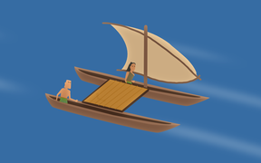 Innovations in ocean-going waka led Polynesians to Aotearoa