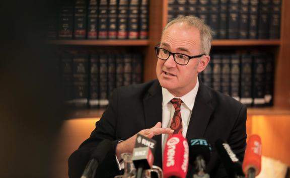 Transport Minister Phil Twyford announcing the NZTA review recommendations 9 October 2019