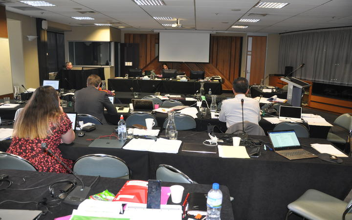 The Health Services and Outcomes Kaupapa Inquiry hearing.