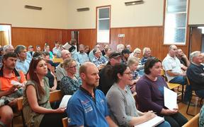 About 50 Elsthorpe parents attended last night's meeting.