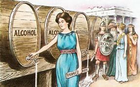 'Liquor laws - The temperance influence' 1905