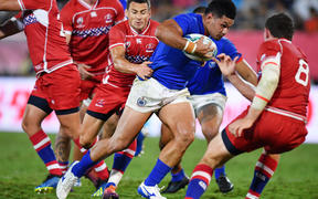 Henry Taefu has started all four pool games for Samoa at the World Cup.