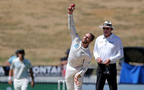 Black Caps skipper Kane Williamson bowled just three overs in the first test in Galle but his action is under the microscope again.