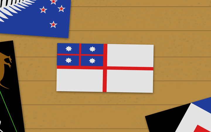 Choosing our first flag in 1834. Animation by Chris Maguren