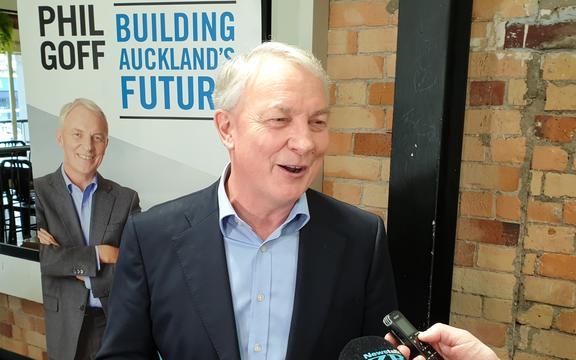 Phil Goff has been re-elected as Auckland Mayor for a second term.