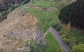 The road between Whanganui and the town has been closed for most of the month.