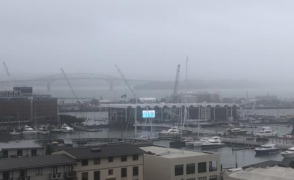 In Auckland, wind gusts, debris and trees damaged power lines.