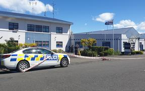 The Wairoa Police Station was also targeted on Sunday night.