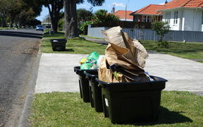 Hundreds of Napier residents have complained about their recycling not being picked up.