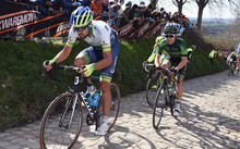 New Zealand cyclist Sam Bewley - pictured competing in last year's Tour of Flanders