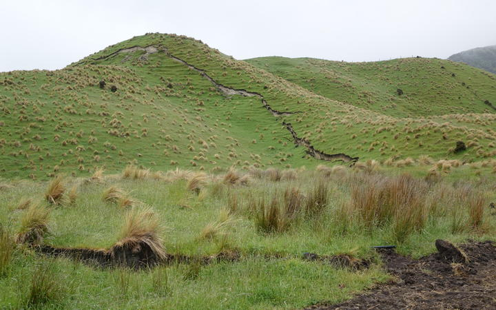 The effects on the landscape from the Kaikōura quake.