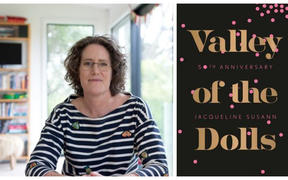 Kate Camp and the cover of Valley of the Dolls