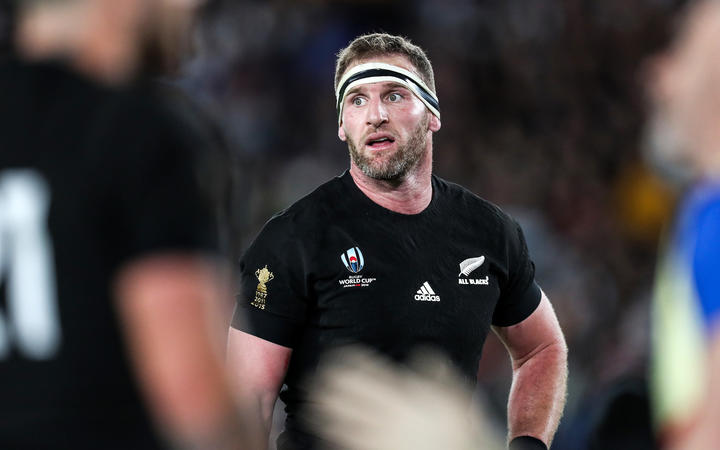 Kieran Read during the game