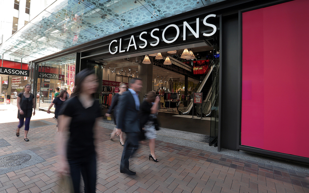 Hallenstein Glasson's December sales fell.