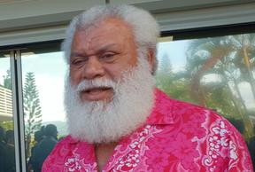 President of New Caledonia's Northern Province Paul Neaoutyine
