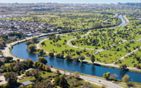 An investment case to Christchurch City Council proposes the allocation $40 million of the regeneration fund towards a green spine in the Ōtākaro Avon River Corridor.