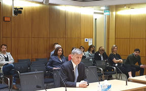 Sir Bill English at speaks to the Health Select Committee on abortion law reform.
