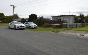 Police were called to the scene in Otautau yesterday.